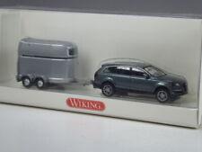 NEU Wiking 13306 Audi Q7 mit Anhänger