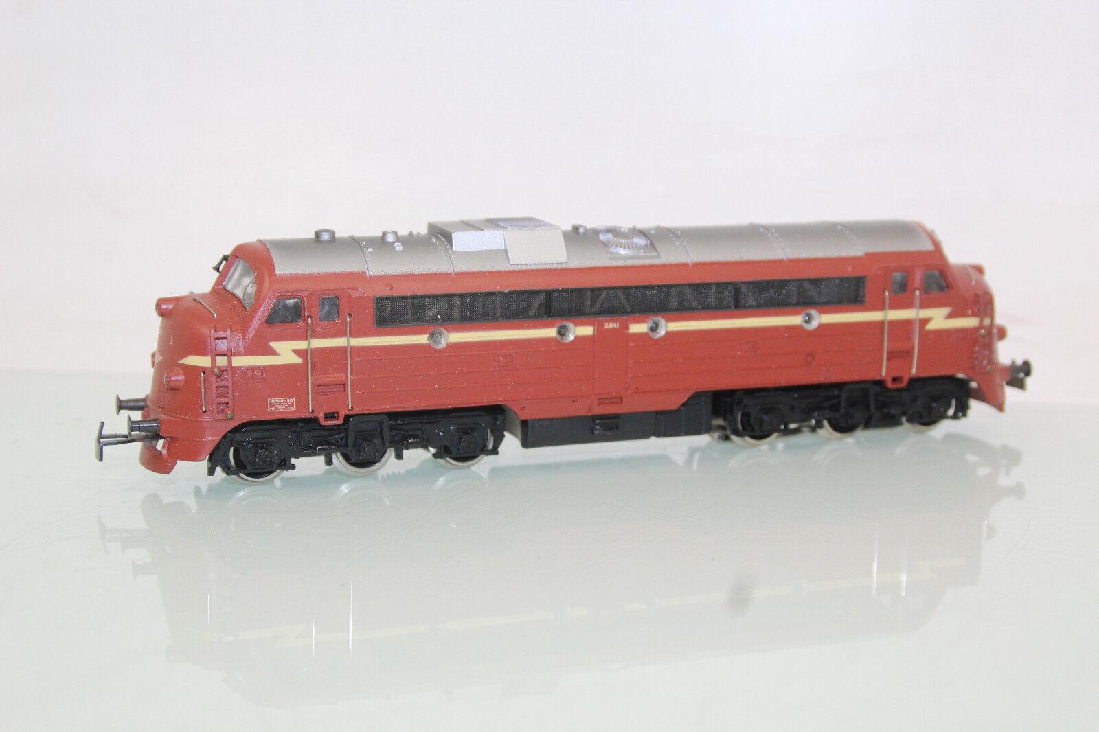 Märklin h0 3068 noruega diesellok NOHAB di 3 de la nsb (sl7814) O.