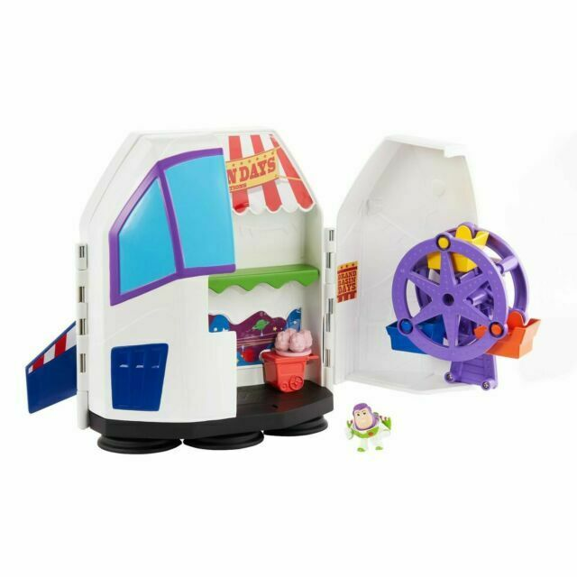 NEW OFFICIAL DISNEY PIXAR TOY STORY BUZZ LIGHTYEAR Carnaval Playset Carry Case