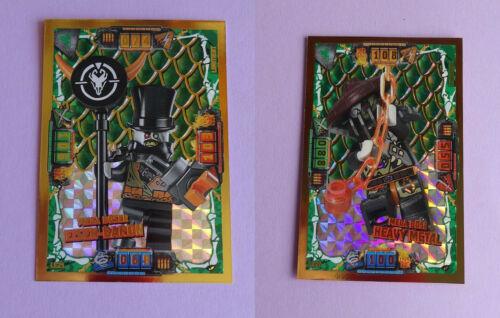 Heavy Metal Eisen-Baron 22 Serie 4: LE 21 TRADING CARD GAME Lego Ninjago