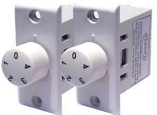 Electronic step fan regulator(Lot of 2)