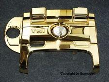 ">vergoldet< Scirocco 3 TSI Motor-Abdeckung gold-bedampft verspiegelt ""chrom"""