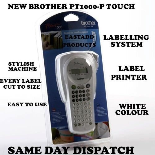 Brother P-Touch® PT-1000 Thermal Label Printer For Sale
