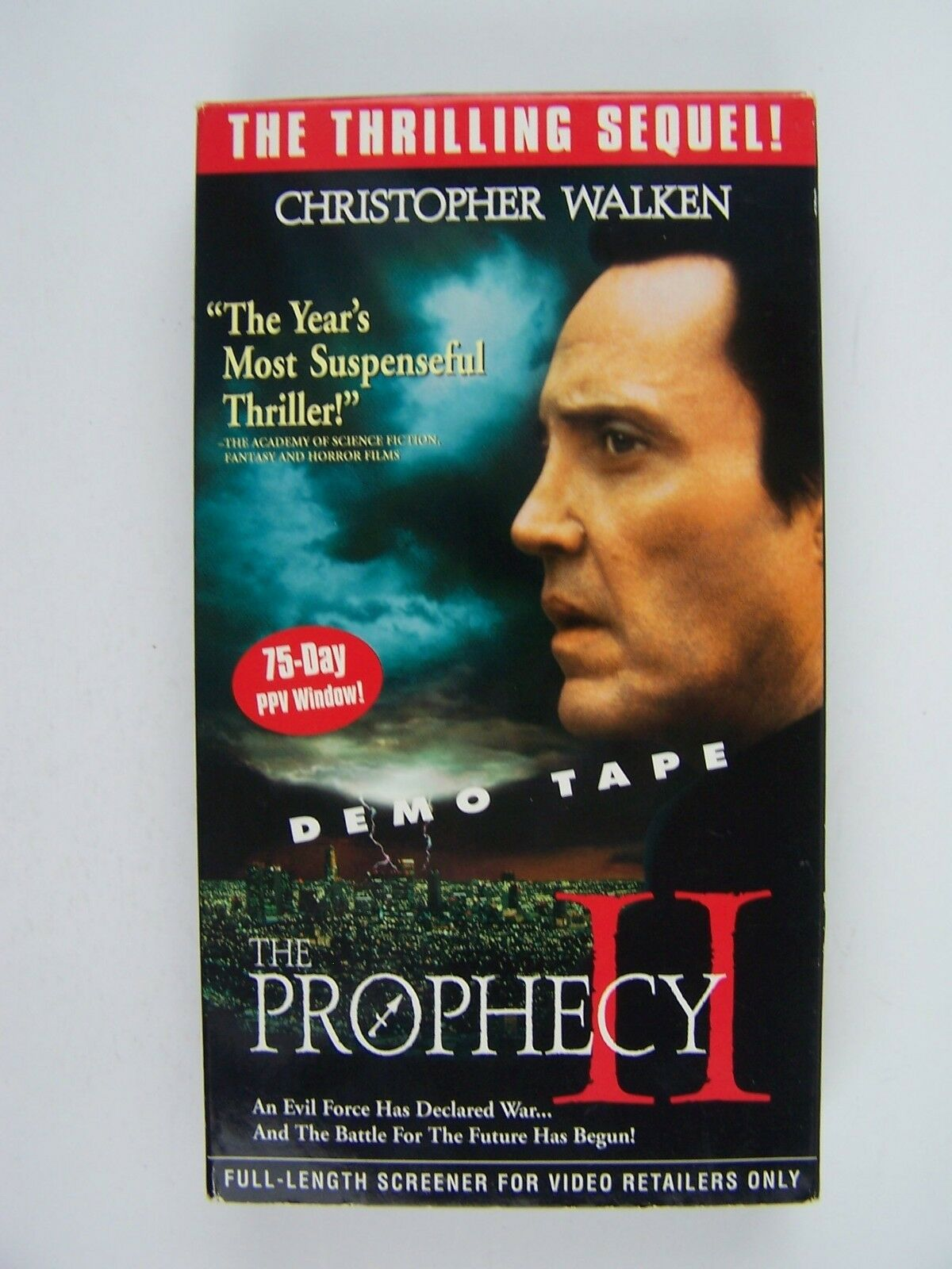 The Prophecy 2 VHS Video PROMO Screener Christopher Wal