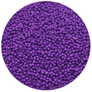 Lot-of-2500pcs-DIY-11-0-Rocaille-1-8mm-Small-Round-Glass-Seed-Beads-purple