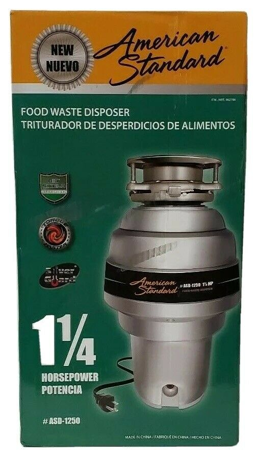 American Standard 1.25 Waste Disposer Model ASD-1250
