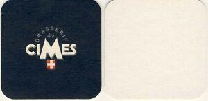 1 Sous Bock viltje coaster BRASSERIE DES CIMES BiIERE des CIMES Savoie Rare SDeFpSLA-09162813-864558711