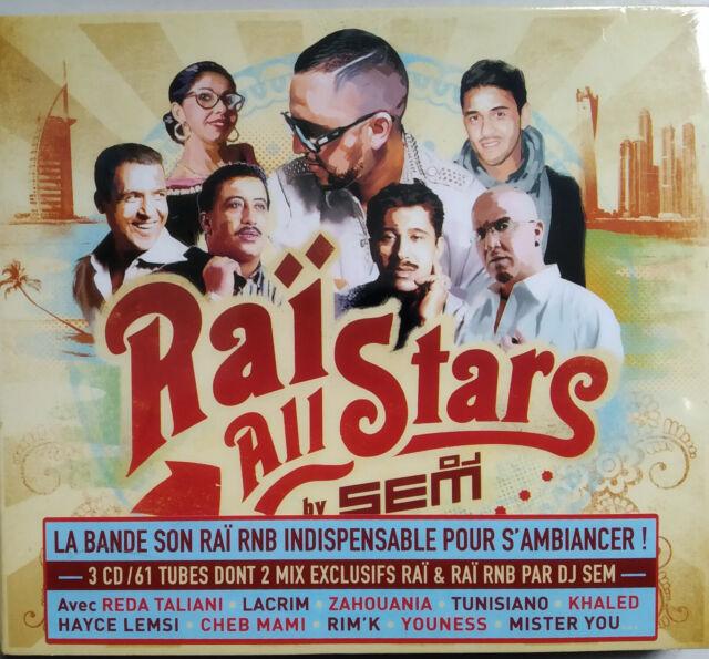 COFFRET 3 CD RAÏ ALL STARS neuf sous blister