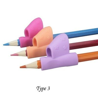 3Pcs//Set Children Pencil Holder Pen Writing Grip Posture Correction Device Tool