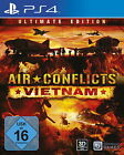 Air Conflicts: Vietnam -- Ultimate Edition (Sony PlayStation 4, 2014, DVD-Box)