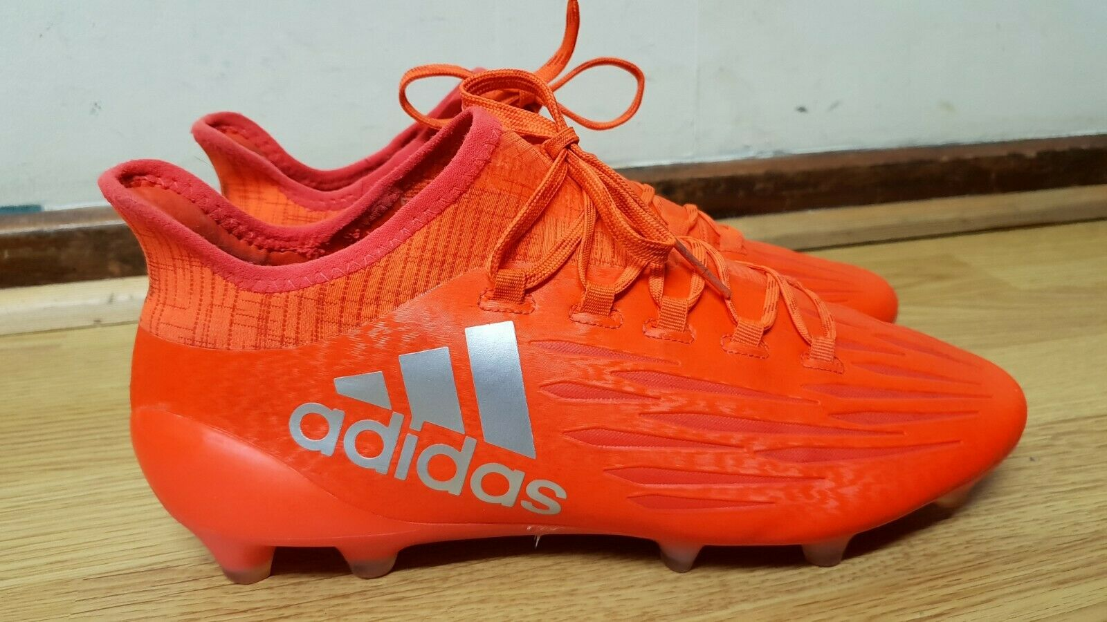 check out 23c75 83d33 Latest News Adidas Nitrocharge 2.0 FG J Kinder-Fußballschuhe white orange  black NEU