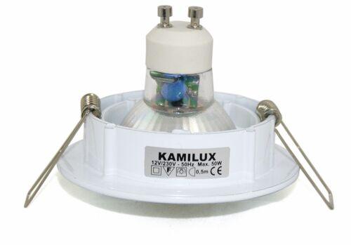 5-15 pièce DEL spot 5 W encastré Bajo installation projecteur plafond éclairage lampe