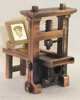 Printing Press Die Cast Pencil Sharpener