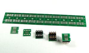SSOP-to-DIP 8-Pin Adapter PCB