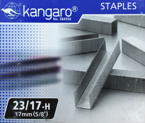 """5//8/"""" // 17mm for KW-Trio Long Reach Stapler Replacement Staples 23//17"""