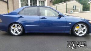 Lexus Is200 Is300 50mm Lowering Springs High Quality