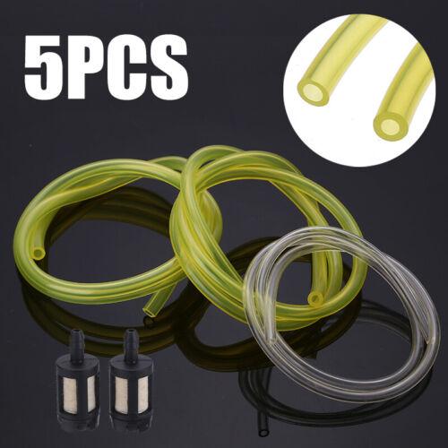 5x Kraftstoff Benzinschlauch 2//2,5//3mm Filter für Motorsägen Freischneider