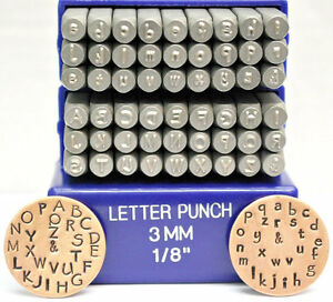 letter punch supply 3mm papyrus font metal stamp uppercase 23120