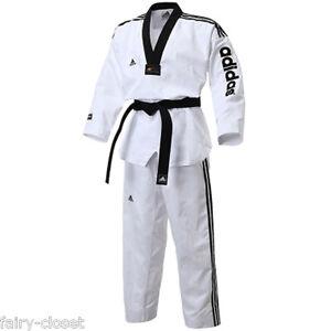 adidas taekwondo tkd 3stripes adi super master 2 uniform. Black Bedroom Furniture Sets. Home Design Ideas