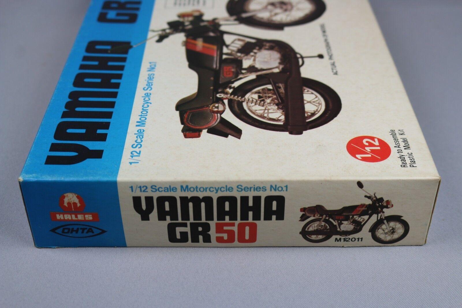 Zf1031 Hales Ohta 1 12 Maqueta Moto M12011 Yamaha Gr50 Gr50 Gr50 2 Strokes Serie No. 1 50c952