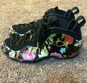 ddc54b789abbd Details about Nike Air Foamposite One Floral Mens 314996-012 Black  Multicolor Shoes Size 9