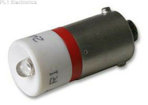 AC//DC 24V 1x SIEMENS 3SB3901-1CA LED-LAMPE Rot SOCKEL BA 9S