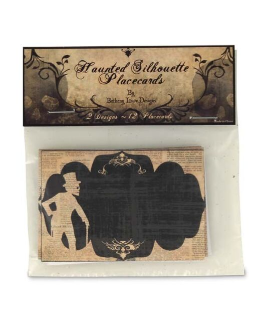Bethany Lowe - Halloween - Silhouette Placecards - LG2645