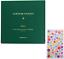 Amycute Ticket Stub Organizer 100 Pockets Leather Ticket Stub Album Holds 5.9 X