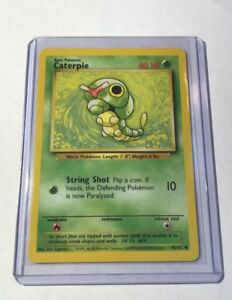 CATERPIE-Base-Set-45-102-Common-Pokemon-Card-Unlimited-Edition-NM