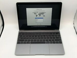MacBook-12-Space-Gray-Early-2015-MF855LL-A-1-1GHz-M-8GB-256GB-Good-Condition