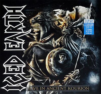 Iced Earth - Live in Ancient Kourion Vinyl 3LP Century Media 2013 NEW