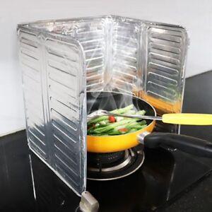 Details About Frying Pan Cover Splash Guard Cooking Oil Hot Food Splatter Screen Kitchen