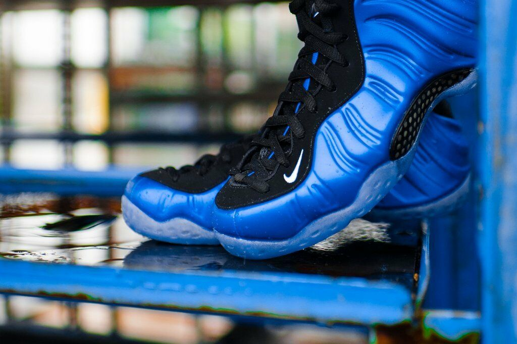 NIKE AIR FOAMPOSITE ONE XX DARK NEON ROYAL/WHITE-BLACK 895320 500 Price reduction Great discount