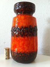 Scheurich Vase Keramik  70s 70er Fat Lava Pop 60s 60er ü es roth wgp ära otto