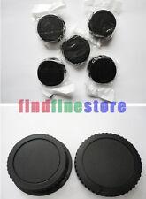 5x Rear lens + Body cap cover for Canon EOS EF EF-S DSLR Wholesale lots 5 pcs