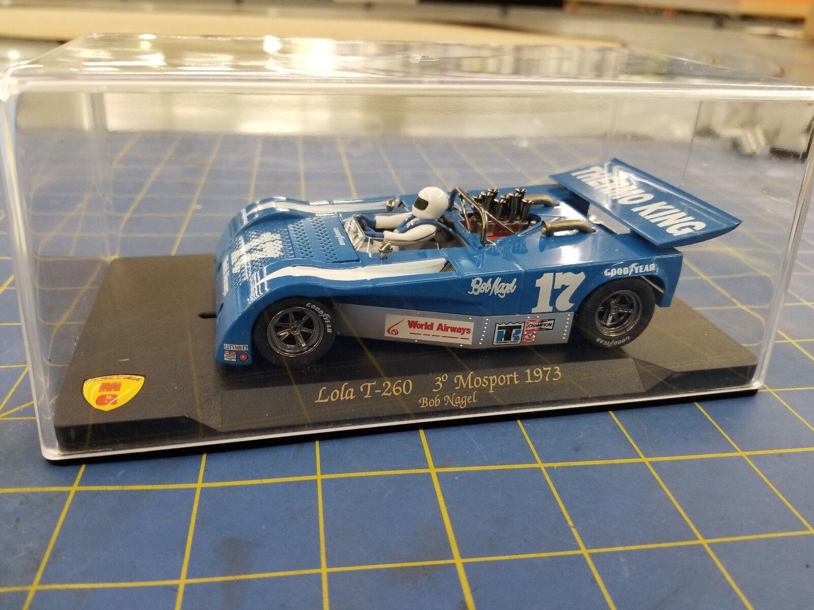 VANQUISH MG CA13 Lola T-260 3 ° Mosport 1973 Bob Nagel 1 32 Slot Car
