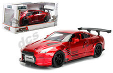 JADA JDM TUNER IMPORT NISSAN GT-R R35 BEN SOPRA GREDDY RACING RED 1/24 CAR 98648