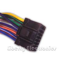 Wire Harness For Alpine Cde-hd137bt / Cde-hd138bt