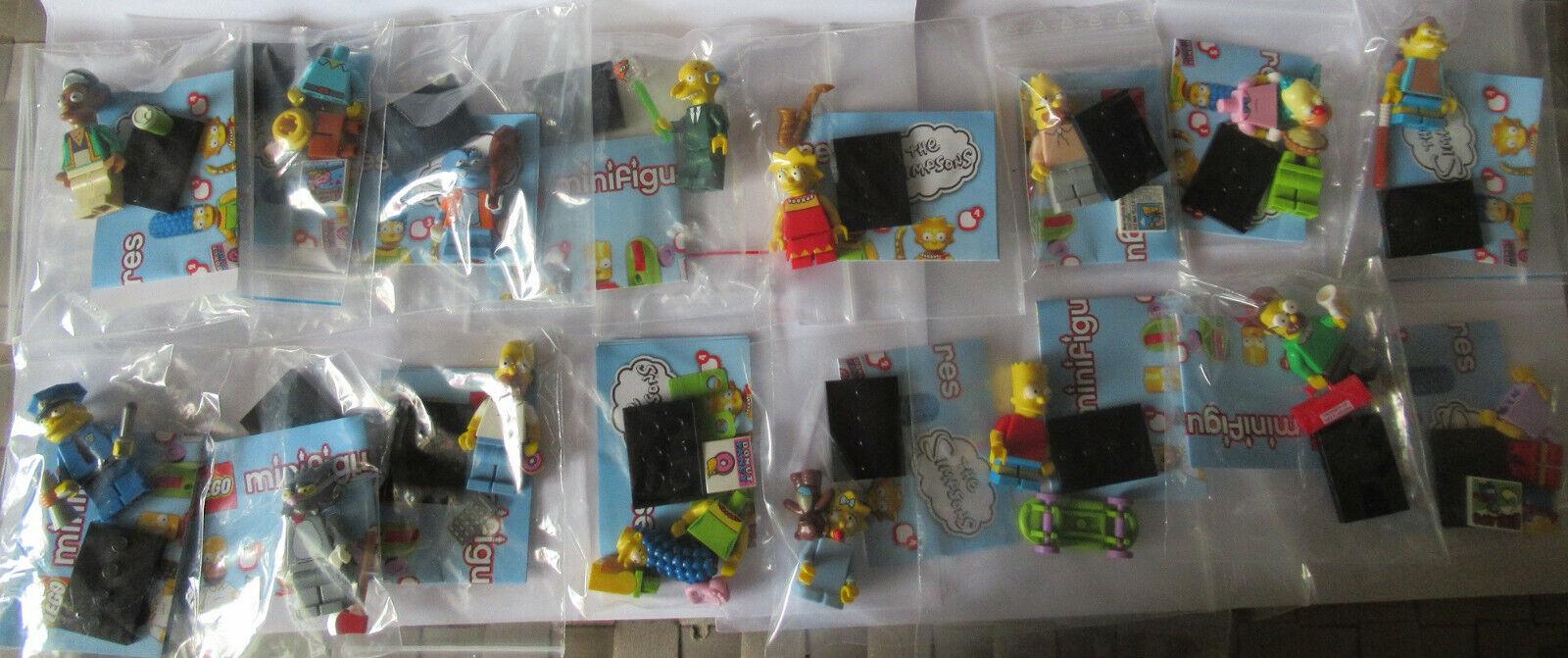 Lego Simpson 71005 serie 1 compcesse u.bpz u.stand u r ovp neu ¡Lego Simpson 71005 serie 1 compcesse u.bpz u.stand u r ovp neu