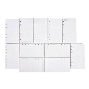 A5 A6 Loose Leaf Notebook Refill Spiral Binder Planner Inner Page Inside Paper