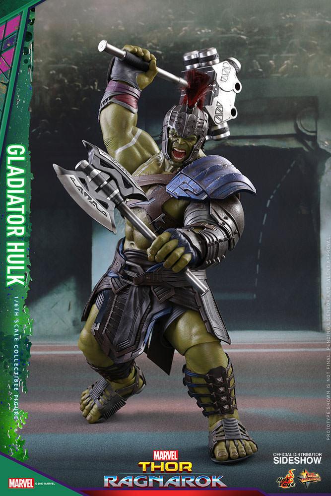 Thor Ragnarok 16 in (environ 40.64 cm) figure MMS échelle 1 6 - Gladiator Hulk Sideshow 903105