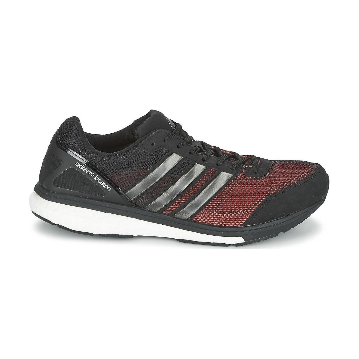 Nouveau Adidas Adizero Boston bottes 5 S78210 noir chaussures De Course hommes Toutes les Tailles de pointe.
