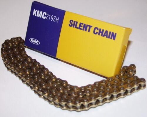 114 Glieder 219er GOLD//GOLD KMC Kartkette Silent Chain