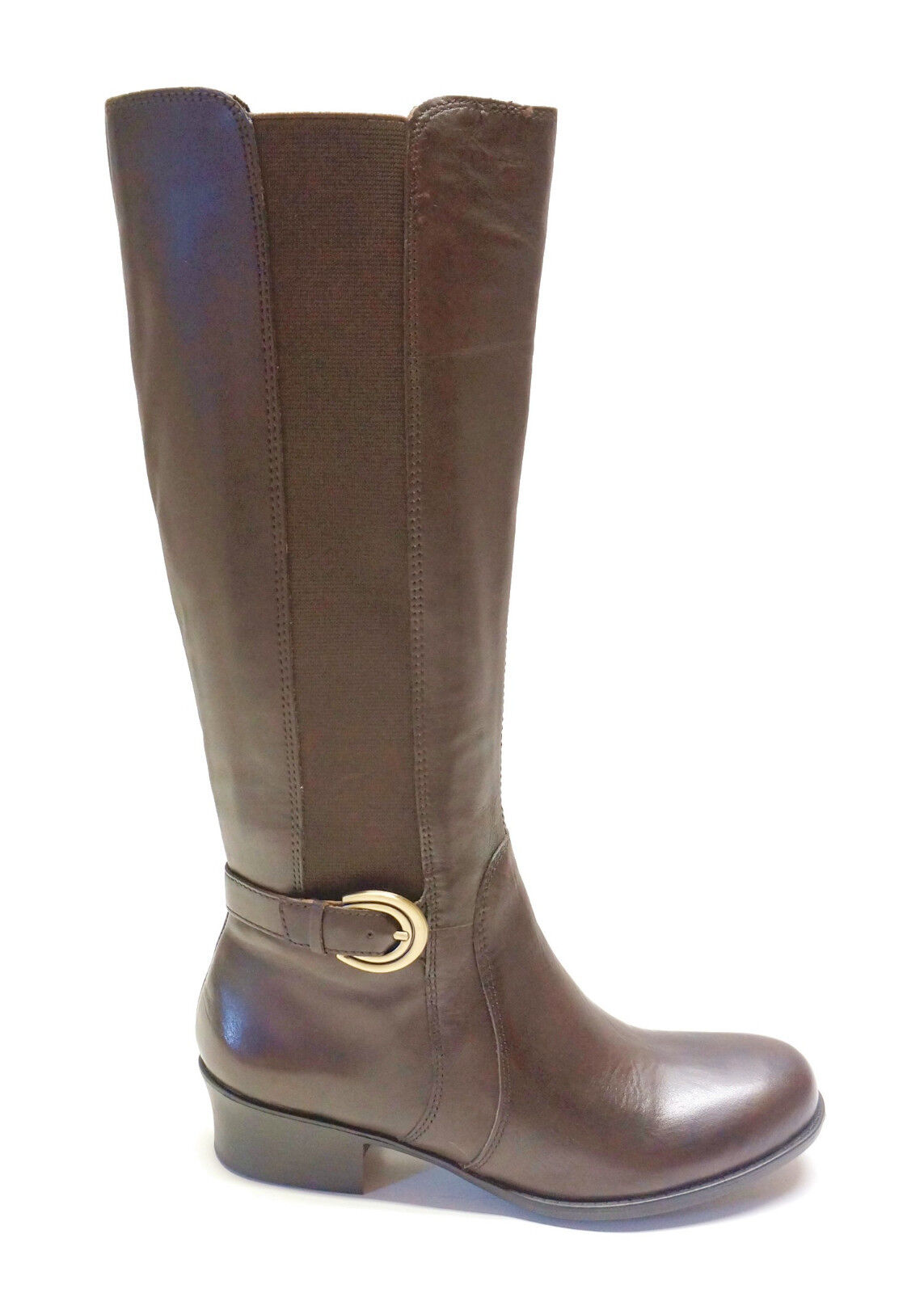 Naturalizer  Brown Leather N5 Comfort Tall Boots ARNESS Women's 7M