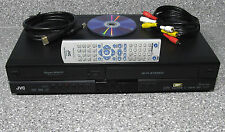 JVC DVD Recorder Dubbing HDMI VHS VCR Combo DR-MV79 w/ Remote Cables Manual DVDs