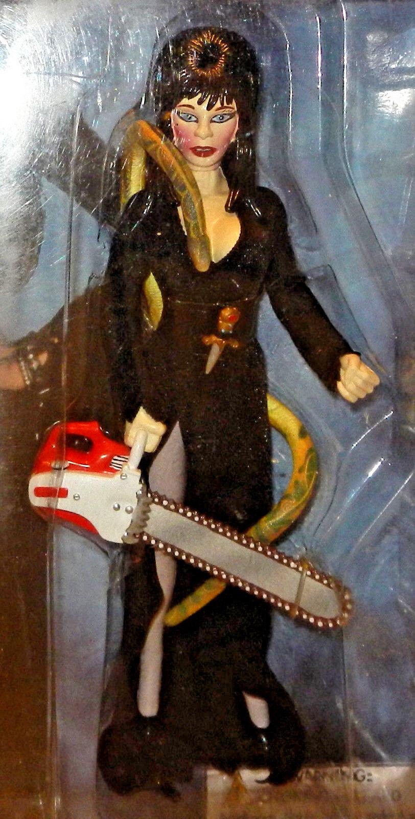 FIGURES TOY CO.  ELVIRA Mistress of the Dark Action Figure 1998, mb (UNOPENED )