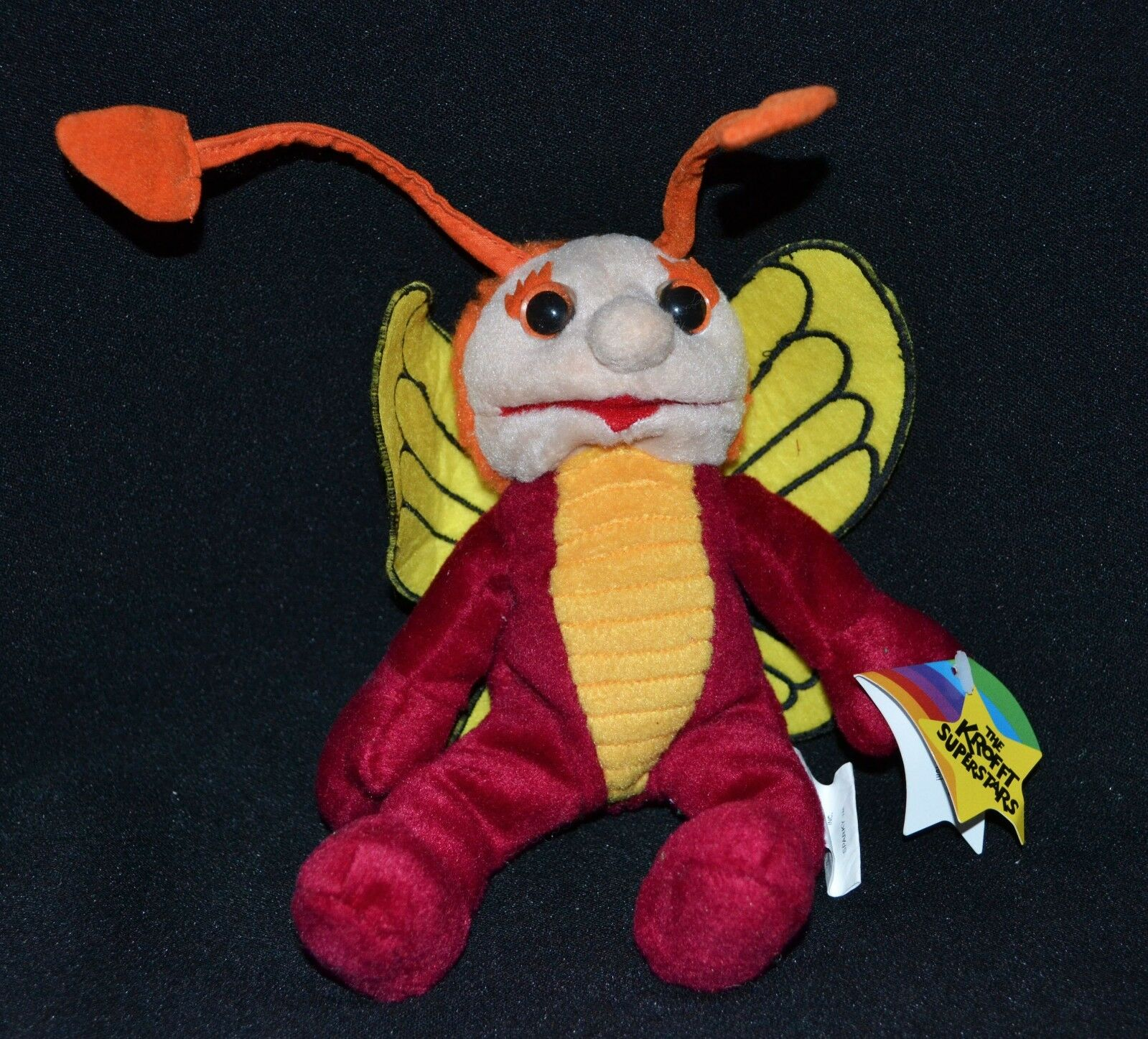 The Bugaloos Sparky Plush Vintage 1999 Living Toys With Tags 20cm