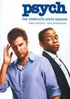 Psych : Season 6 (DVD, 2014, 4-Disc Set)
