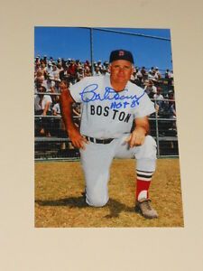Boston-Red-Sox-BOB-DOERR-Signed-4x6-Photo-MLB-AUTOGRAPH-BOBBY-1B