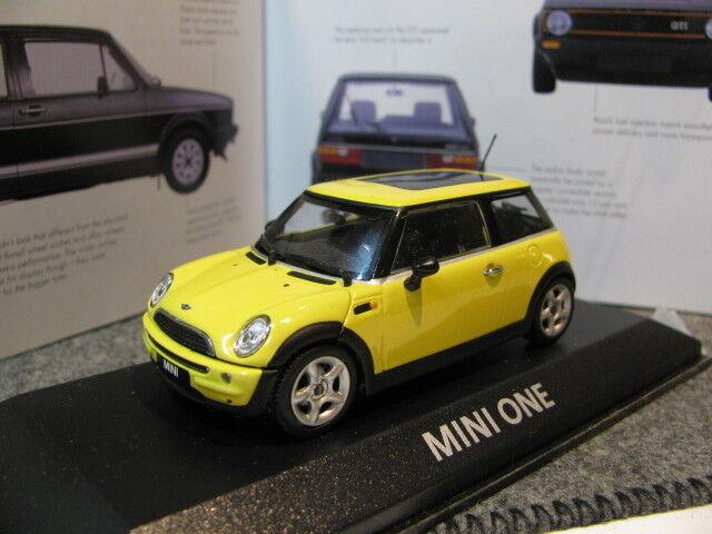 1 43 Minichamps Mini Cooper MINI ONE Diecast